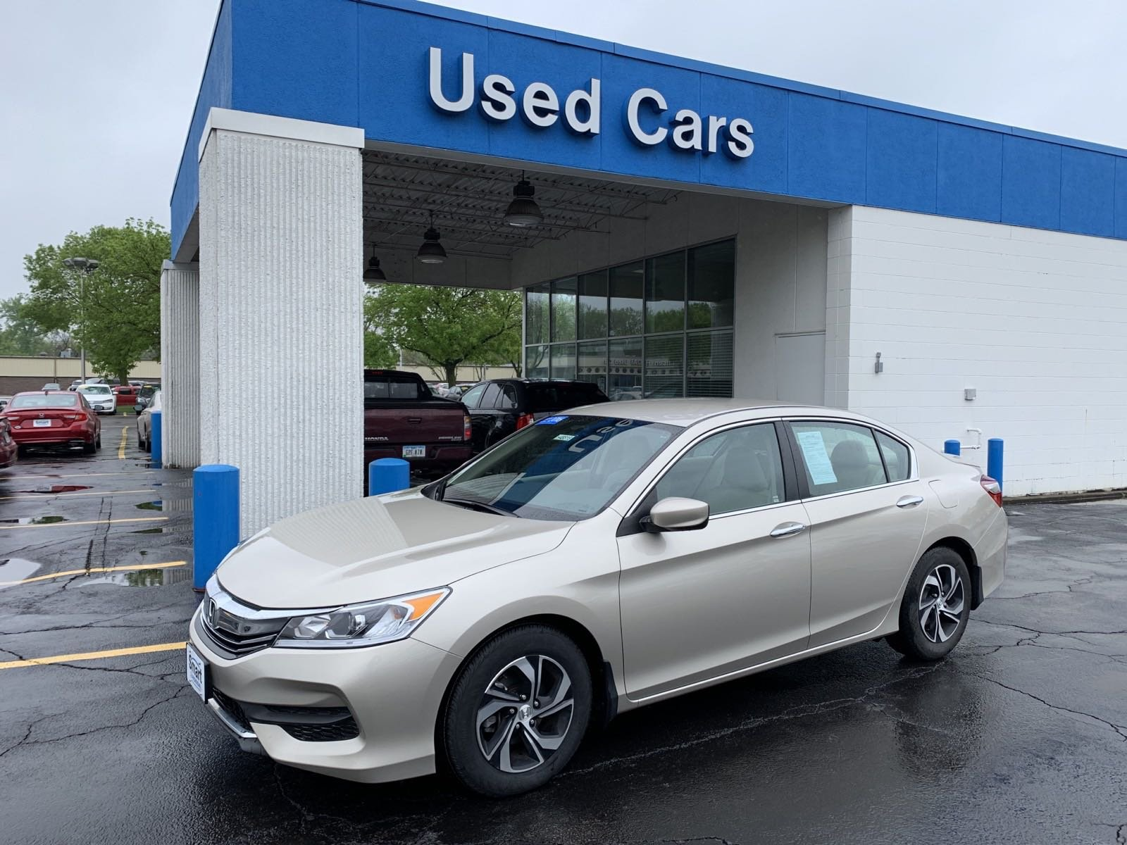 Certified Pre Owned 2016 Honda Accord Sedan Lx