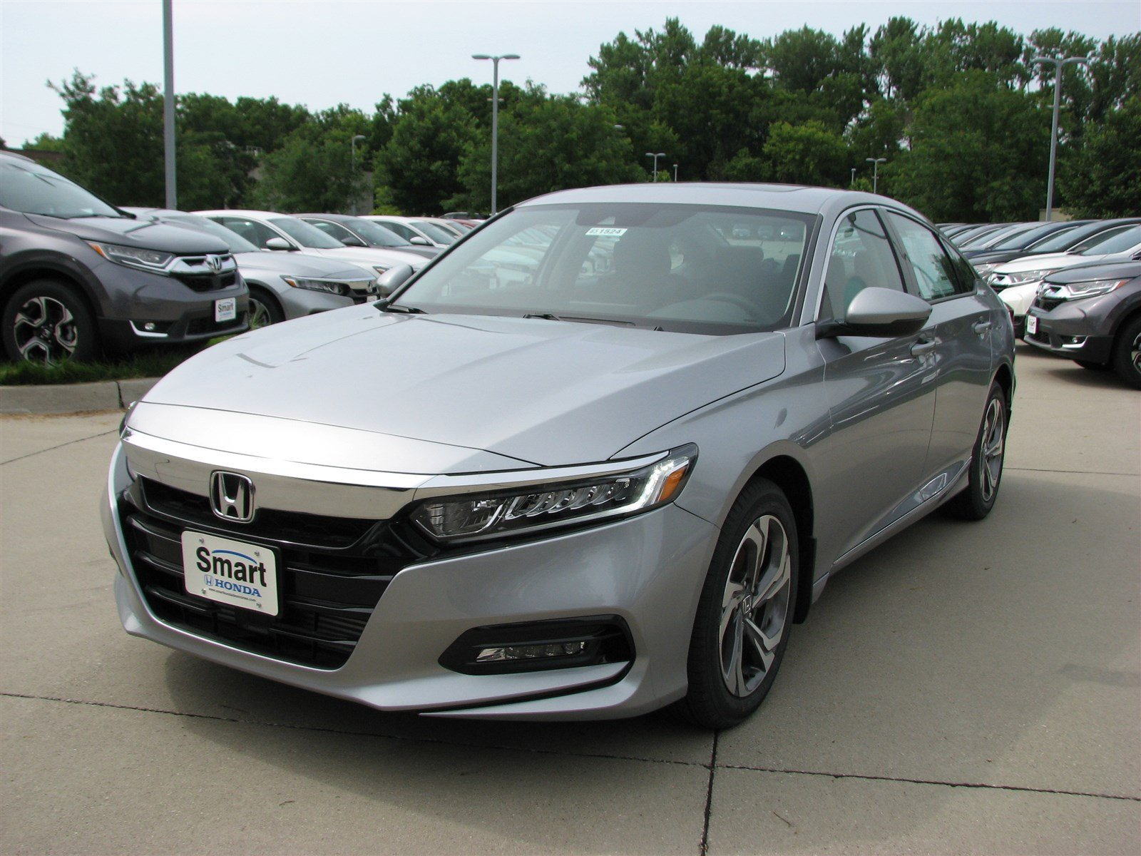New 2019 Honda Accord Sedan Ex L 2 0t