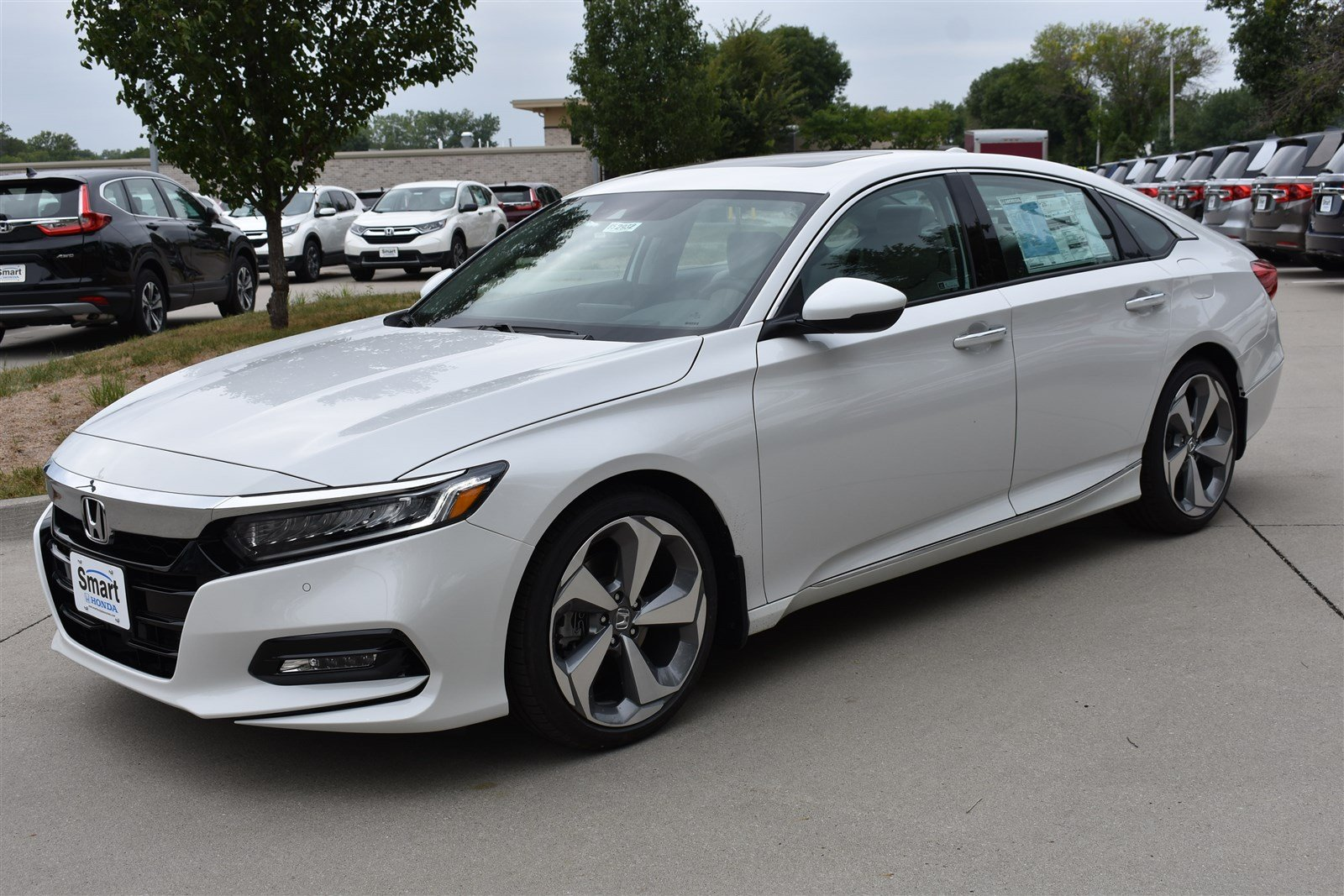 Honda Accord Sedan >> New 2019 Honda Accord Sedan Touring 2 0t 10 Speed Automatic W Od