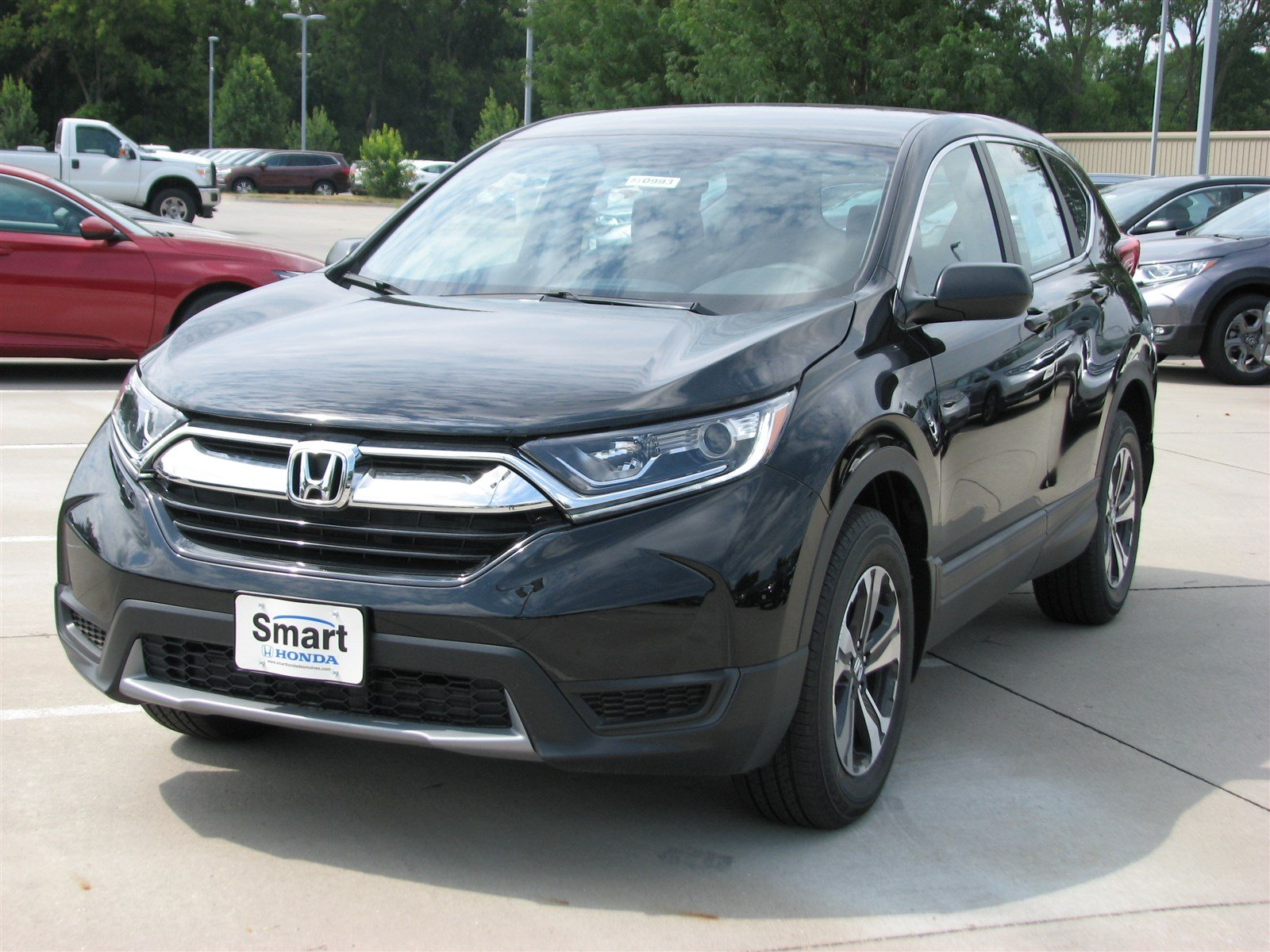 Honda Of Des Moines >> New 2019 Honda Cr V Lx Awd