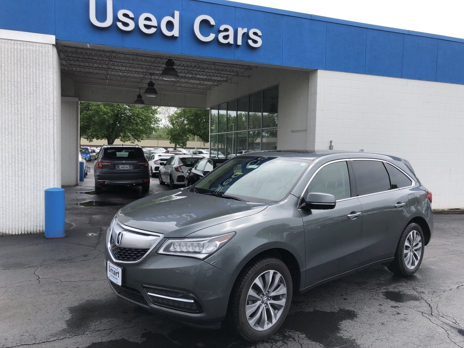 Acura Des Moines >> Pre Owned 2014 Acura Mdx Tech Pkg With Navigation Awd
