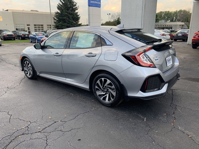 Certified Pre-Owned 2019 Honda Civic Hatchback LX
