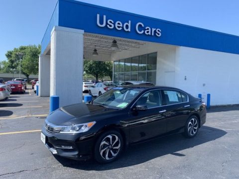 Certified Pre-Owned 2017 Honda Accord Sedan EX-L V6