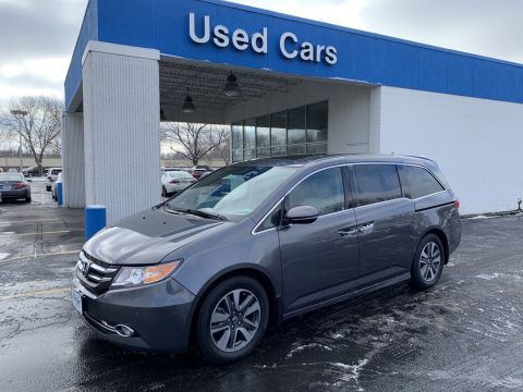 Certified Pre-Owned 2016 Honda Odyssey Touring